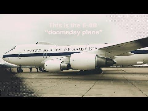 """Американский самолет """"судного дня"""" показали изнутри"""