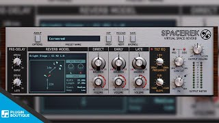 Spacerek by D16 Group | New Virtual Space Reverb VST Plugin