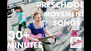 Children's Songs: 30+ Minutes of Preschool Movement Songs for Kids