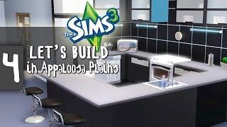 The Sims 3 - Let's Build #4 - La cuisine c'est moi... et...