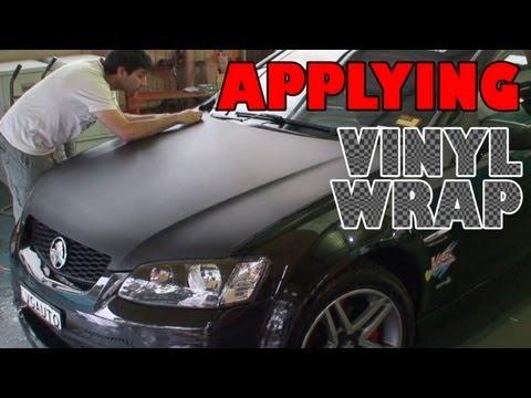 First time applying vinyl wrap