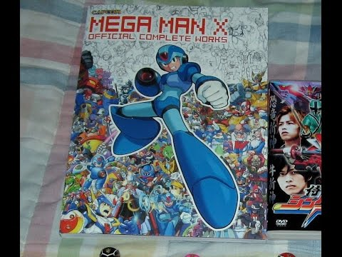 first-review:-mega-man-x-official-complete-works-book