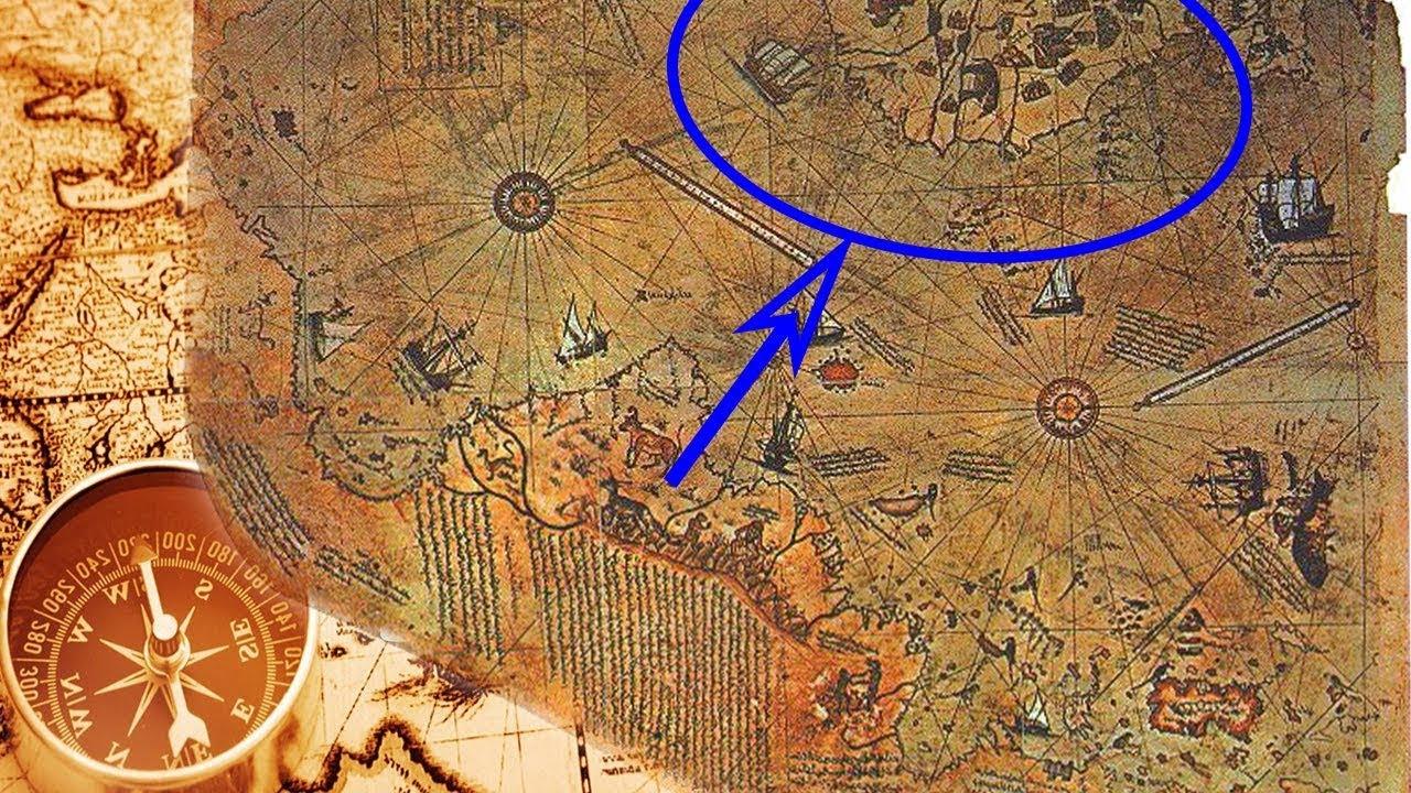 خريطة عمرها 500 عام ، يمكن ان تعيد كتابة التاريخ البشري