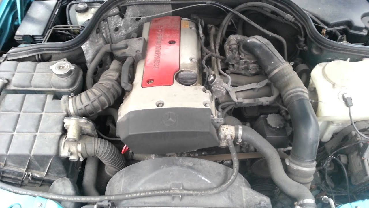 Mercedes c230 kompressor engine 111975 youtube for Mercedes benz c230 engine