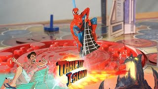 Spider-Man Swing into Action (2003) Vintage Board Game Review/Commercial