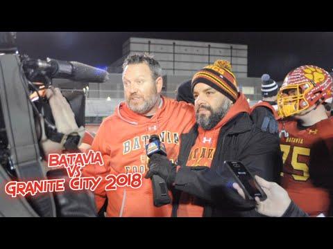 """Batavia vs Granite City 2018 - """"IHSA Playoffs 1st Round"""""""