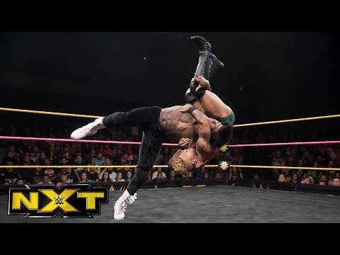 Lio Rush vs. The Velveteen Dream: WWE NXT, Oct. 11, 2017