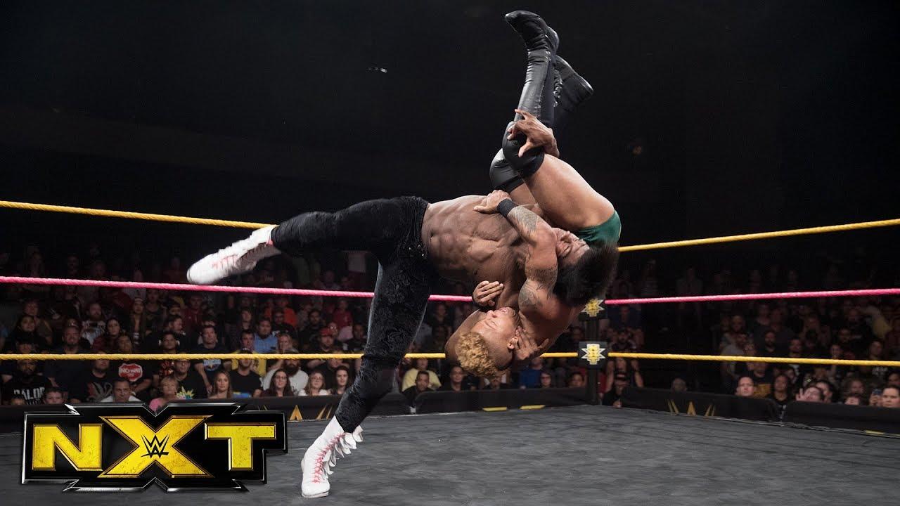 Lio Rush vs. The Velveteen Dream: WWE NXT, Oct. 11, 2017