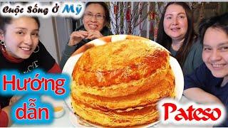 ❀//Vlog 83// Hướng Dẫn Làm Bánh Pateso Nhân Thịt Ngàn Lớp Giòn Thơm - Món Ngon Mỗi Ngày