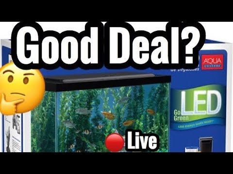 Walmart 55 gallon Starter Kit Worth the Money?