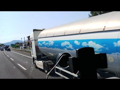 Короткий  обзор цистерны для перевозки опасного груза(ADR ) - Газ пропан
