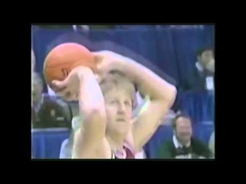Larry Bird 1985 3 Point Shootout- 9 IN A ROW!!!!