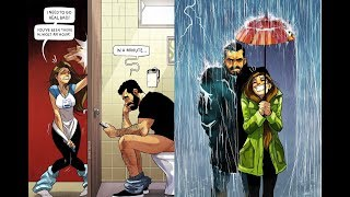 Artist Keeps Illustrating Everyday Life With His Wife In Comics And We're Not Jealous At All
