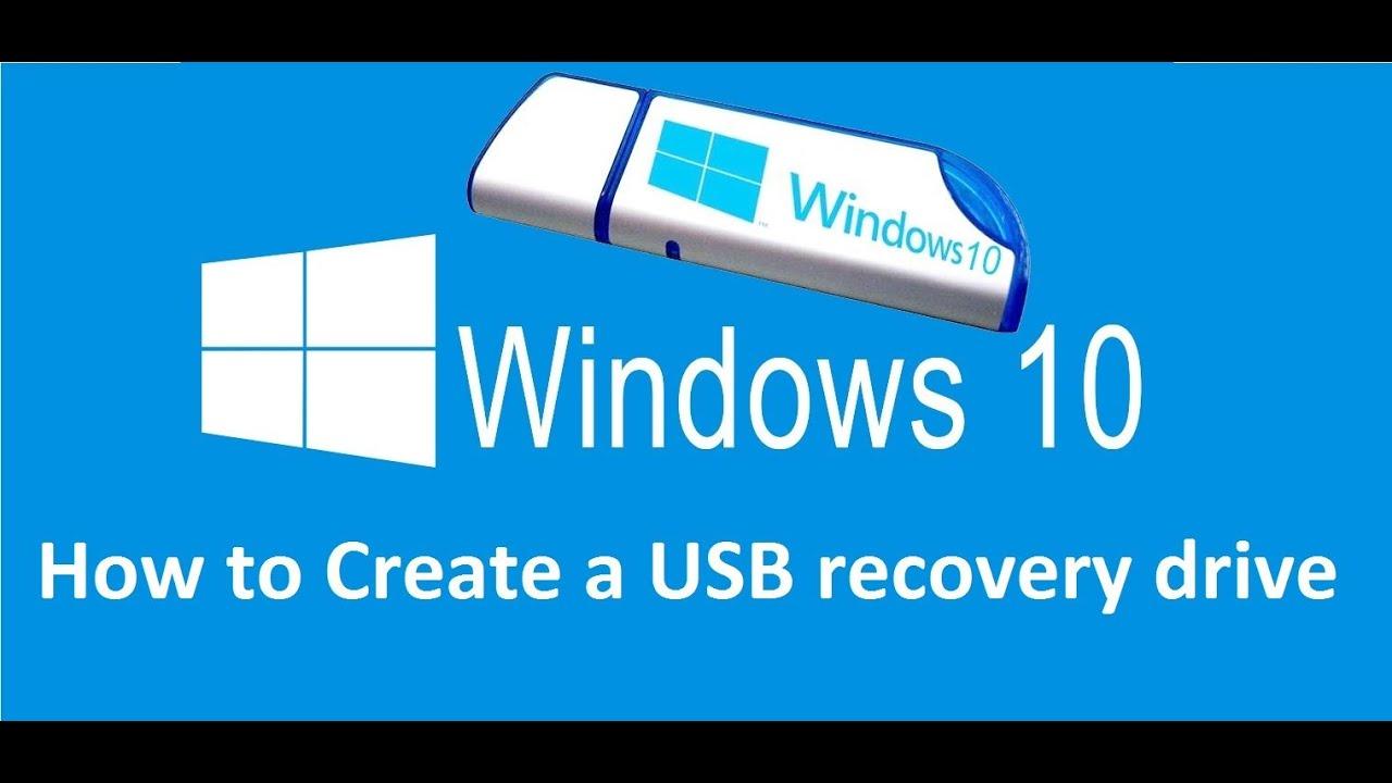 create windows repair usb windows 10