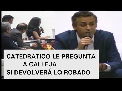 CALLEJA EN LA UCA NO SUPO QUE RESPONDER CUANDO LE PREGUNTAN DE LO HUEVIADO POR ARENA