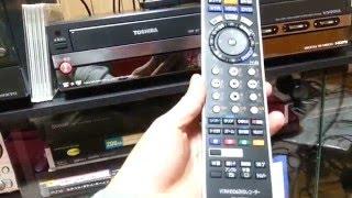 音楽録音用にDVDレコーダー TOSHIBA RD-W300ハードオフで購入しました!
