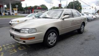 1993 Toyota Camry LE V6 Start Up, Engine, and In Depth Tour