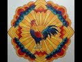 """Animal Mandalas New Release """"Flip-through"""" and Coloring with Crayola Watercolor Pencils"""
