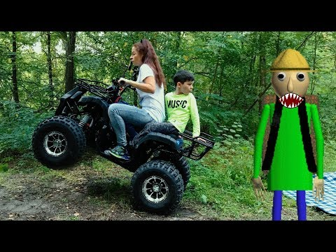 Den and Baldi Camping in real life 0+