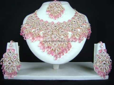 Indian Costume Jewellery--Patwa Sets--