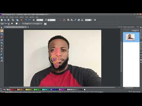 Magic Eraser Xara Designer Pro X