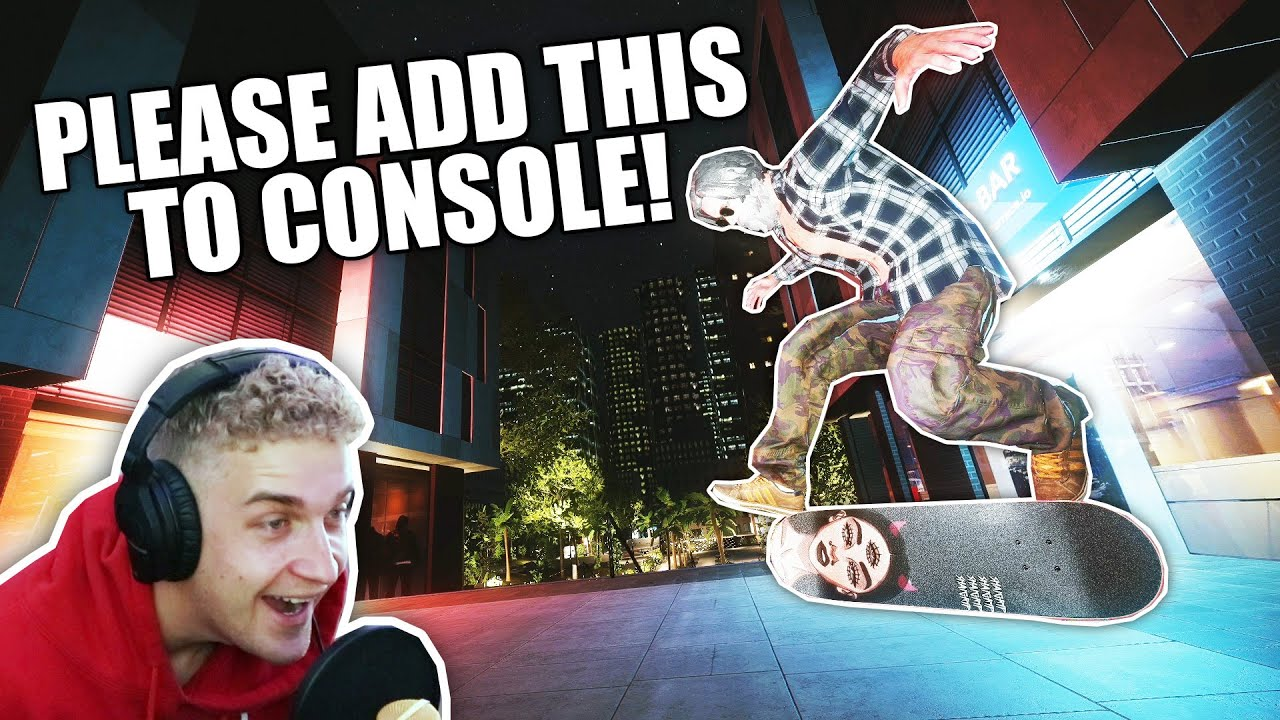 One of my FAVORITE Console maps Just got WAY BETTER! (on PC unfortunately...) | Skater XL