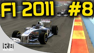 F1 2011 Career Mode Part 8 - Valencia (Gameplay PC)