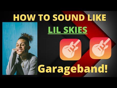 How to SOUND LIKE LIL SKIES GARAGEBAND MAC
