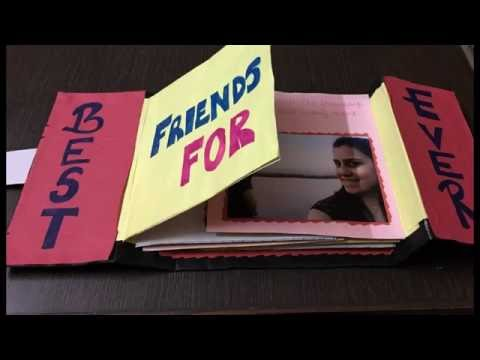 DIY - Photo Album / Friendship Day Gift