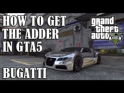 gta 5 secret car location where to find the bugatti. Black Bedroom Furniture Sets. Home Design Ideas
