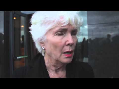 Fionnula Flanagan reacts after screening of the movie 'Patricks Day'