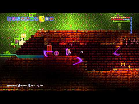 GET THE LIHZAHRD POWER CELL in TERRARIA (To Summon Golem)