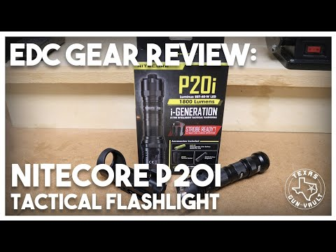 EDC Gear Review: Nitecore P20i Tactical Flashlight