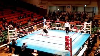 山梨県K.T.Tスポーツボクシングジム試合動画 樋口ひろし VS 矢部龍征 R2
