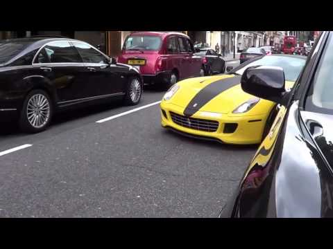 My Client who is a Mega Rich ARAB's Flaunting their WEALTH Importing their SUPERCARS into LONDON