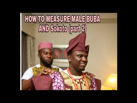 How to measure for men African traditional wear (Professional fitted measurement) Pt2 thumbnail