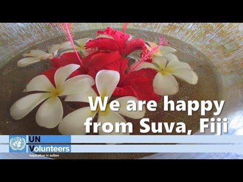 We are happy from Suva, Fiji
