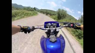 Yamaha Xt600 Supermoto in Greece