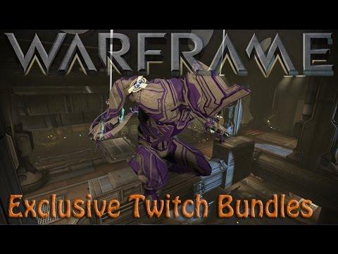 Warframe - Exclusive Twitch Bundles