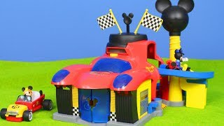 Micky Maus Wunderhaus: Roadster Racers Spielzeugautos & Feuerwehrmann | Disney Unboxing deutsch
