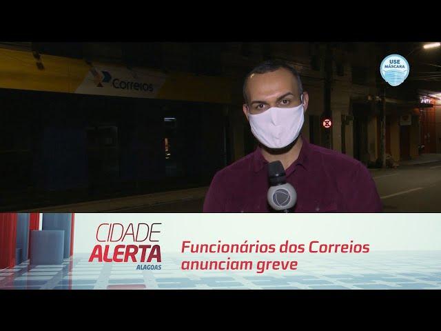 Funcionários dos Correios anunciam greve