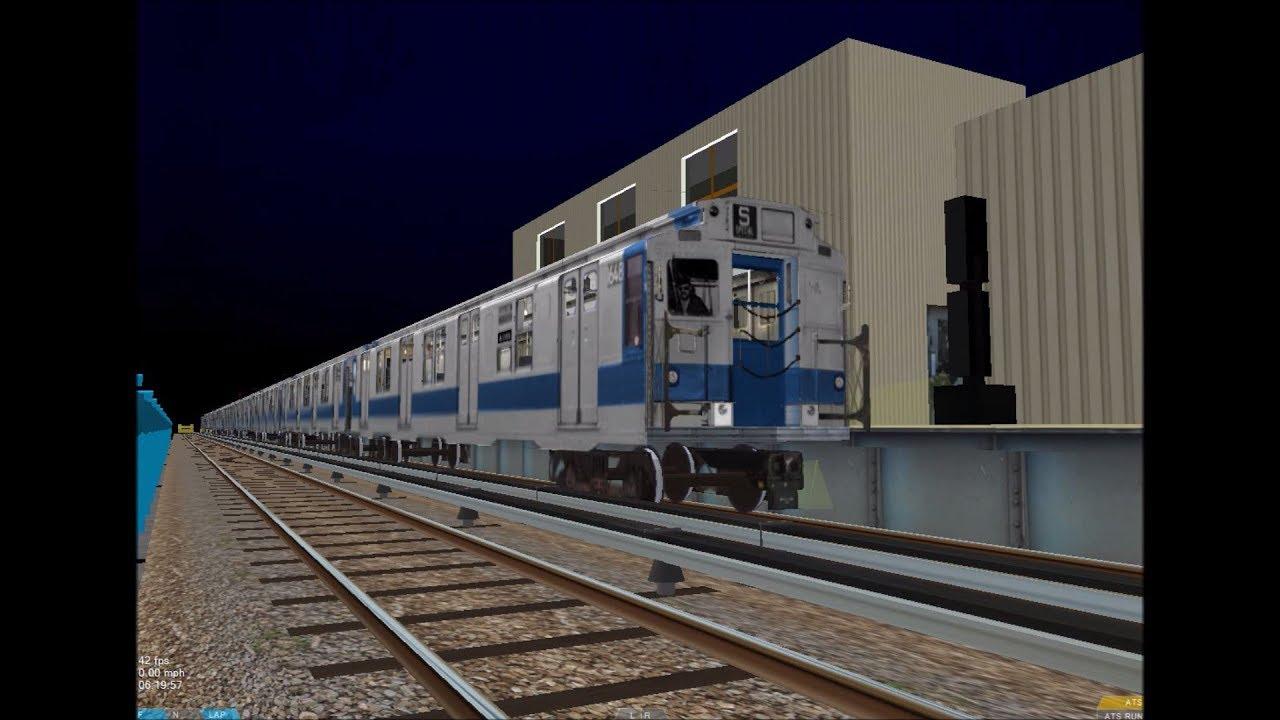 OpenBVE HD: NYC Subway IND R9 Air Sound Update [Brakes & Compressor] 8/27/17