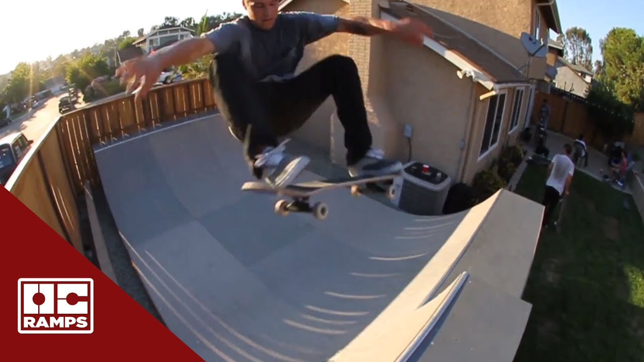 backyard skateboarding with jordan hoffart u0026 josh hawkins by oc
