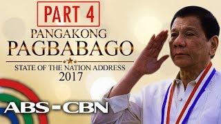 President Duterte's 2nd SONA (Part 4)
