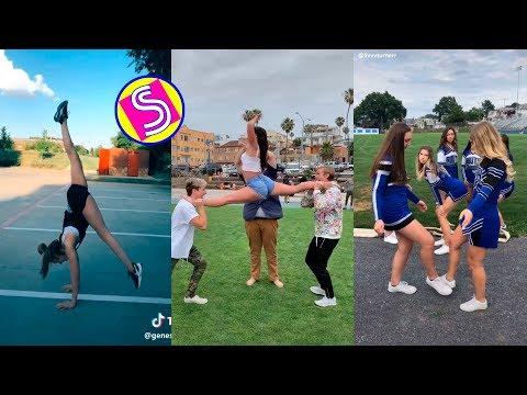 Funny Gymnastics Videos - NEW GYMNASTICS SKILLS TIKTOK BATTLE