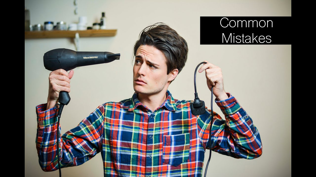 3 Popular Common Hairstyling Mistakes Mens Hair Tips YouTube