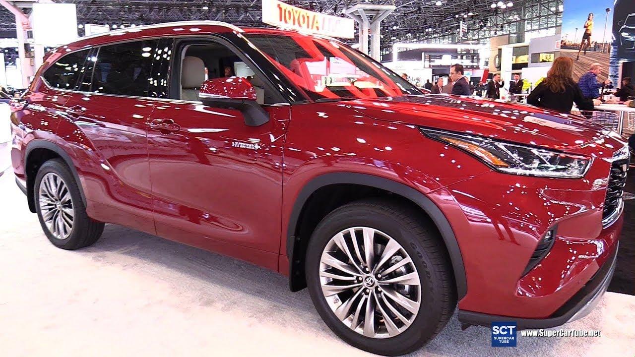 2020 Toyota Highlander Platinum Exterior Interior Walkaround Debut 2019 New York Auto Show