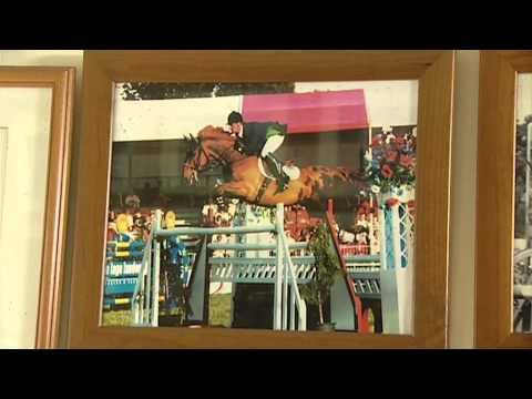 Showjumping - Geoff Luckett At Home Pt2 -December 2010