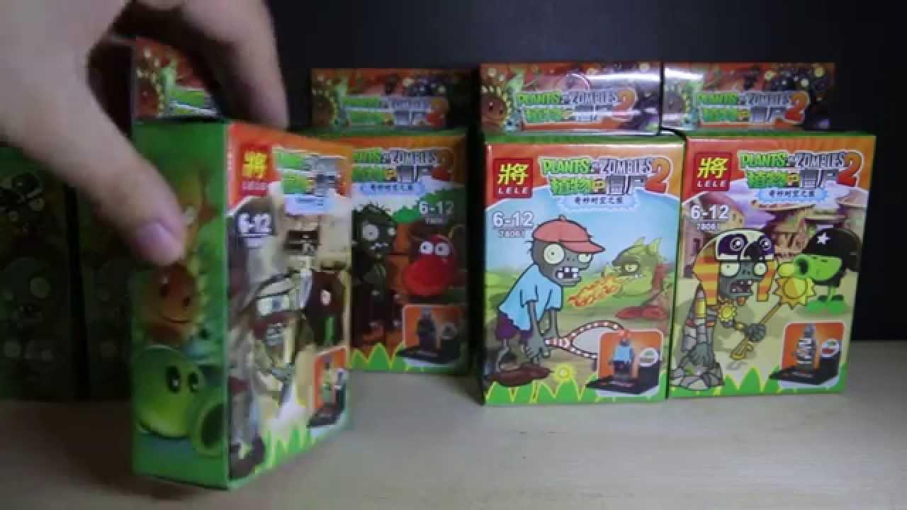 Lego Plants Vs Zombies 2 Lele Bootleg Review Youtube