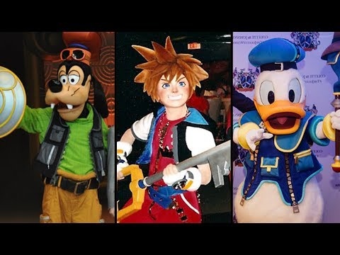 Evolution of Kingdom Hearts In Disney Parks! DIStory Ep. 21- Disney Park History!